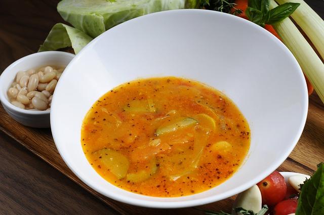 Супы овощные и грибные